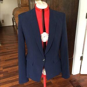 Almost new White House Black Market navy blazer